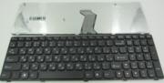 Клавиатура для ноутбука Lenovo Z570 570 B590 V570 Z575 Black RU